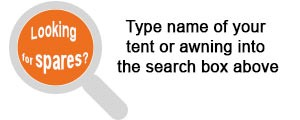 Looking for tent spares