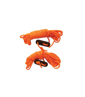 Family Guylines with Runner 5m, Orange - 2 pack