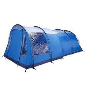 Universally fitting Front Tent Awning / Canopy (260cm wide x 185cm high), Blue