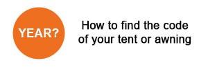 Find vango tent code